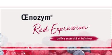Œnozym<sup>®</sup> Red Expression : unifiez sucrosité et fraîcheur